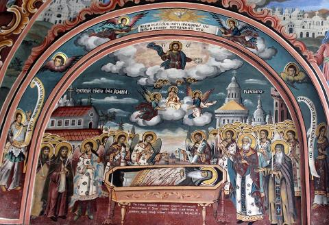 Успение на преподобни Св. Иван Рилски